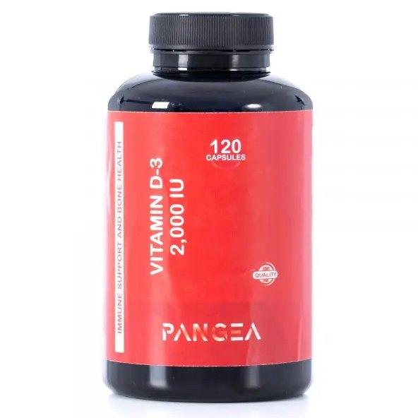 Pangea Vitamin D3 120 Units One Size