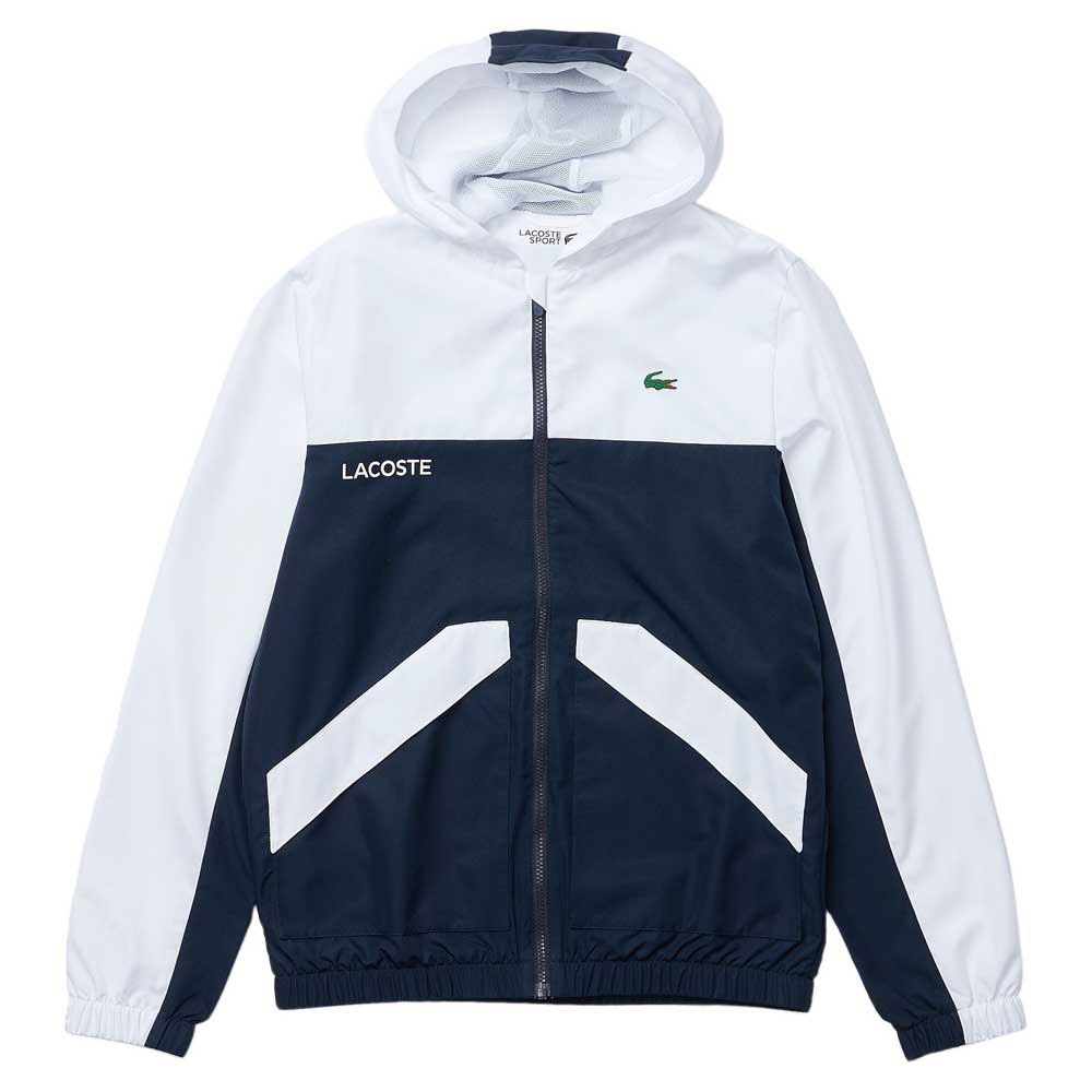 Lacoste Sport Colourblock 54 White / Navy / White