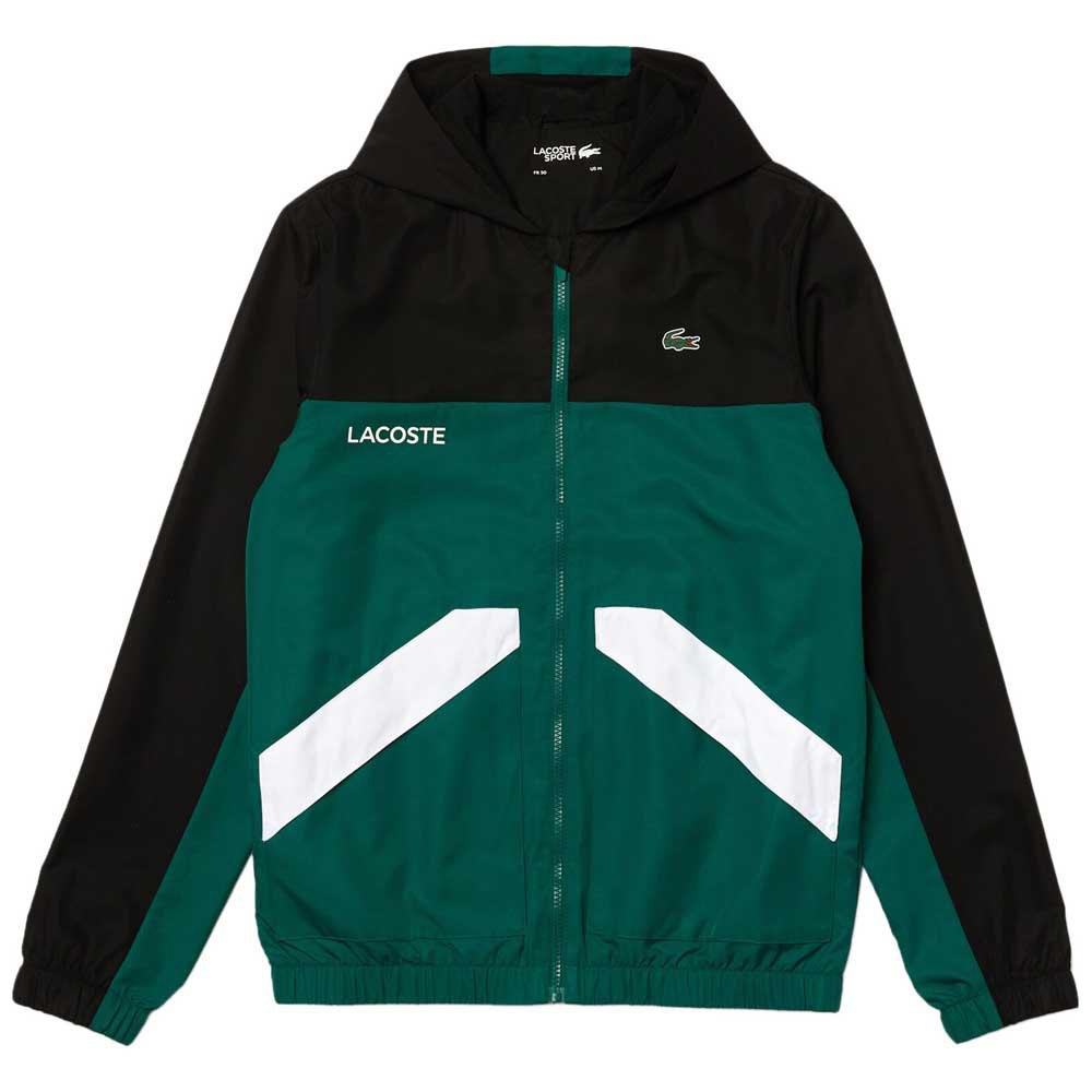 Lacoste Veste Sport Colourblock 52 Black / Bouteille / White