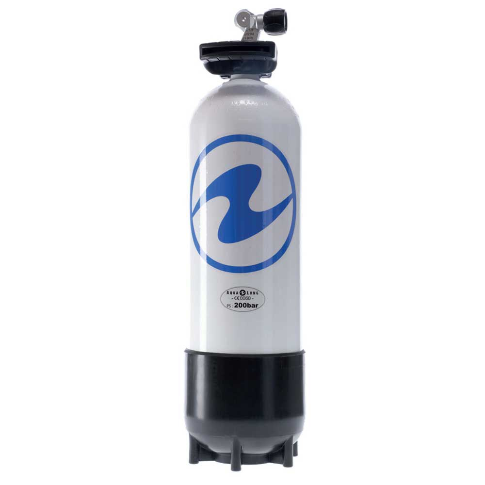 Aqualung Z-ventil 10l 200 Bar Black White Sauerstoffflaschen Z-ventil 10l 200 Bar