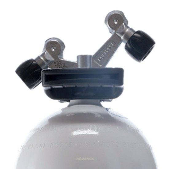 Aqualung Kleine Flasche O2 Tag-ventil 12l 232 Bar Black White Sauerstoffflaschen Kleine Flasche O2 Tag-ventil 12l 232 Bar