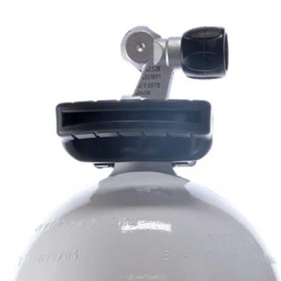 Aqualung Z-ventil Nitrox 6l 200 Bar Black White Sauerstoffflaschen Z-ventil Nitrox 6l 200 Bar