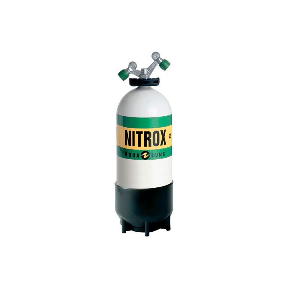Aqualung Kleine Flasche O2 Tag-ventil Nitrox 12l 232 Bar Black White Sauerstoffflaschen Kleine Flasche O2 Tag-ventil Nitrox 12l 232 Bar