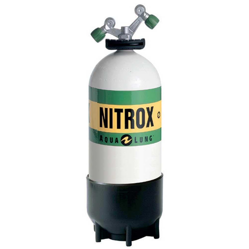 Aqualung O2 Tag-ventil Nitrox 15l 232 Bar Black White Sauerstoffflaschen O2 Tag-ventil Nitrox 15l 232 Bar