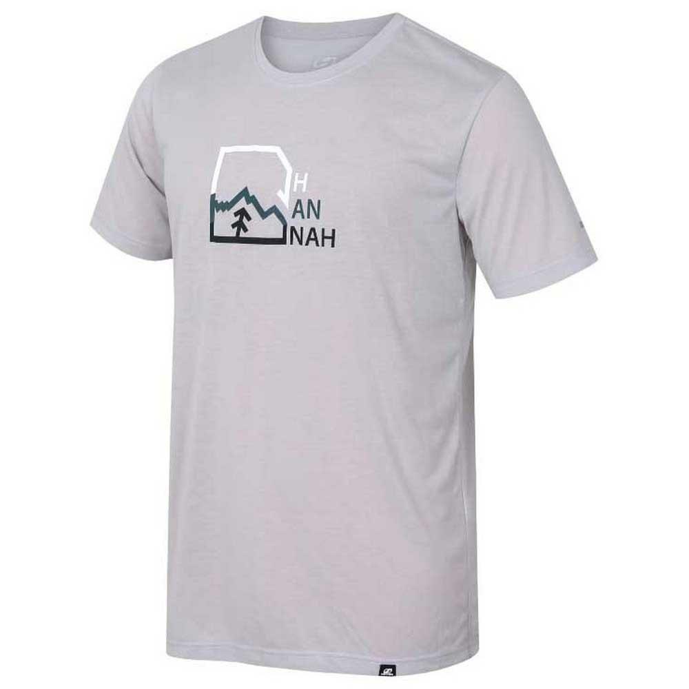 Hannah T-shirt Manche Courte Bite L Gray Violet / Print 1
