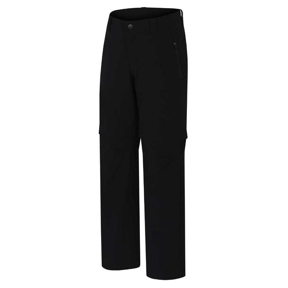 Hannah Basco Zip-off Long Pants 116 cm Anthracite