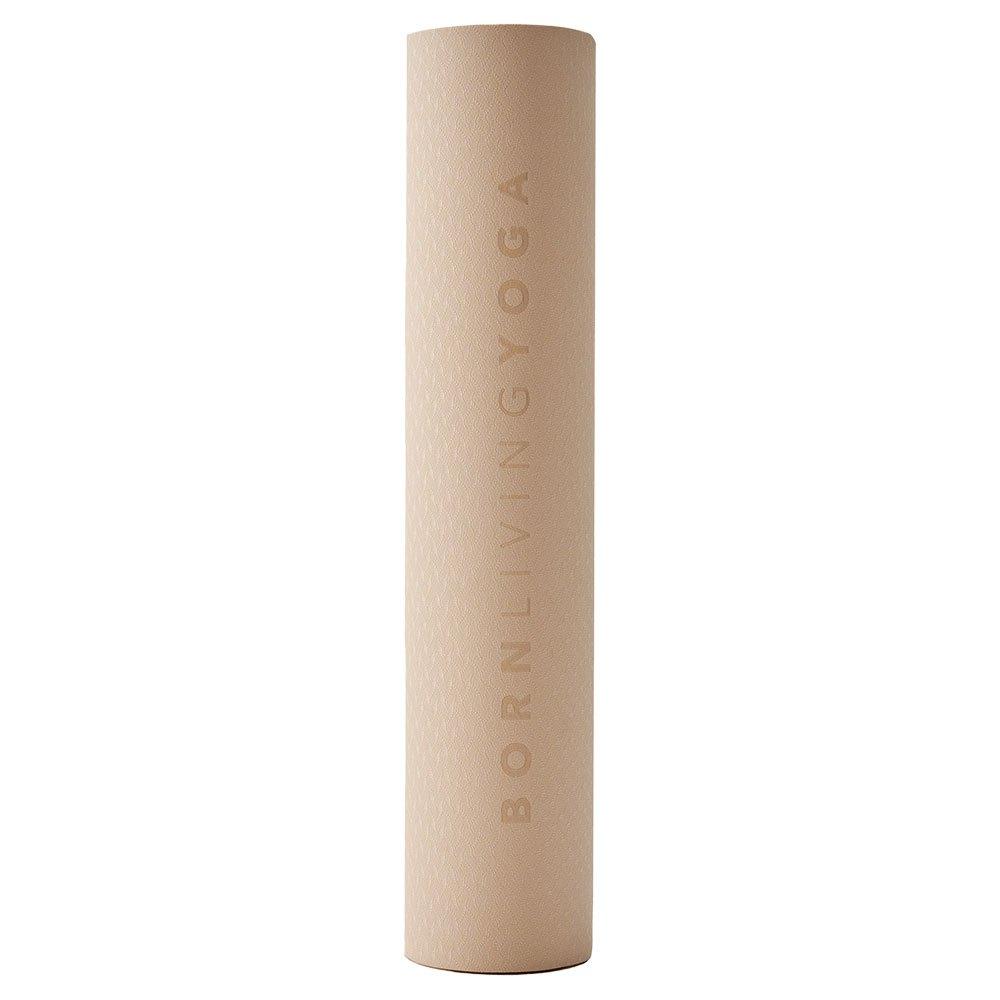 Born Living Yoga Tapis Mat 61 x 181 x 0.6 cm Sand