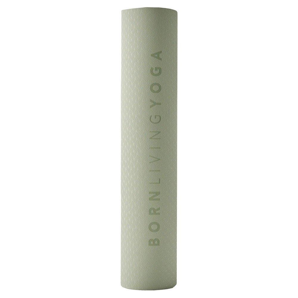 Born Living Yoga Tapis Mat 61 x 181 x 0.4 cm Light Tea