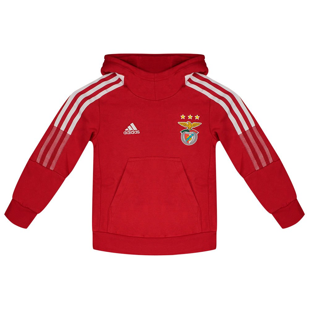 Adidas Veste Survêtement Capuche Sl Benfica 21/22 Junior 116 cm Team Power Red
