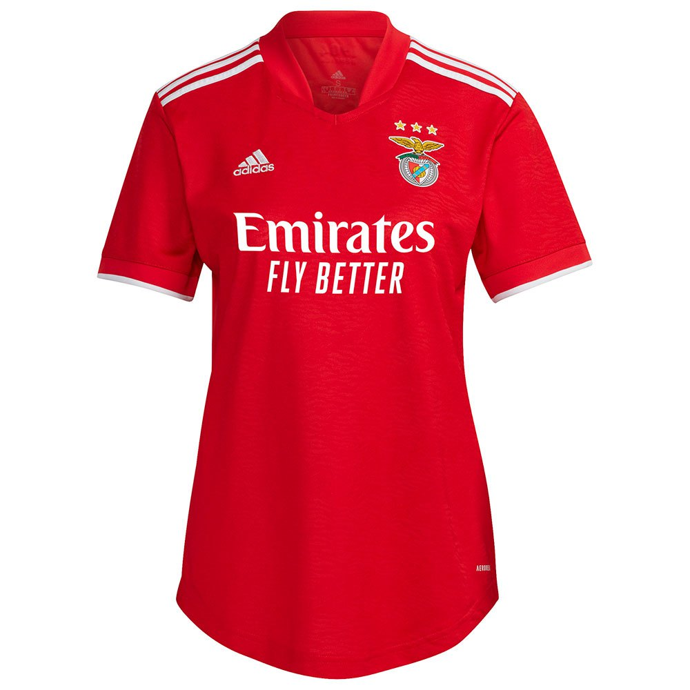 Adidas T-shirt Sl Benfica 21/22 Domicile Woman S Benfica Red