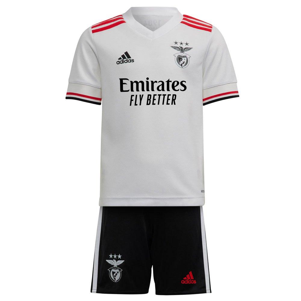 Adidas Mini Kit Sl Benfica 21/22 Extérieur Junior 110 cm White
