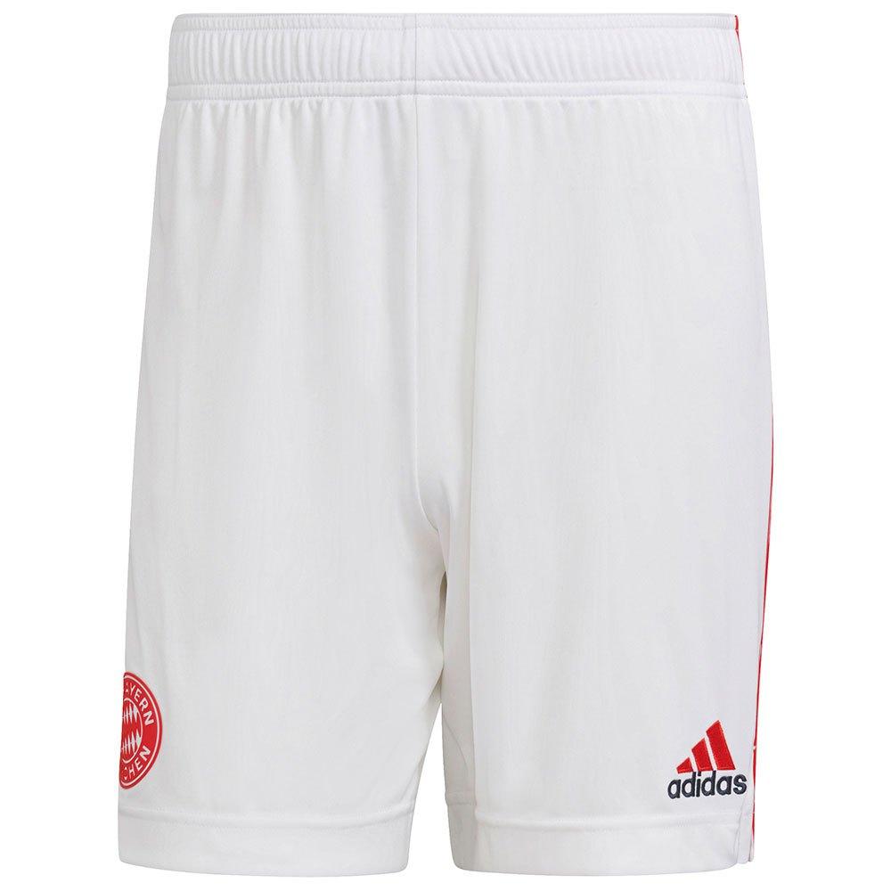 Adidas Le Short Fc Bayern Munich 21/22 Troisième XS White