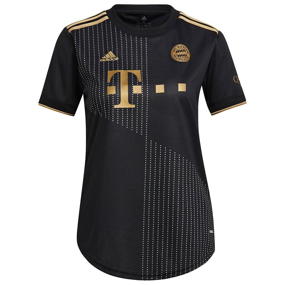 Adidas T-shirt Fc Bayern Munich 21/22 Extérieur Woman S Black