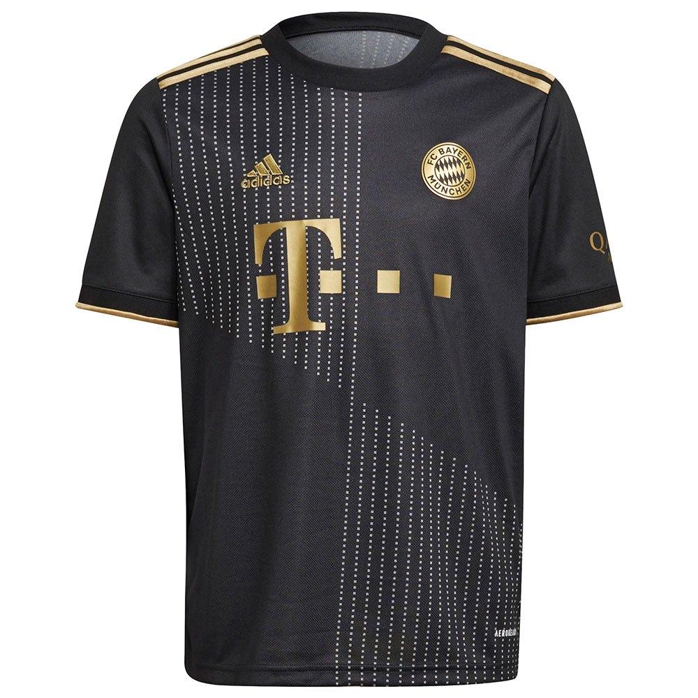 Adidas T-shirt Fc Bayern Munich 21/22 Extérieur Junior 152 cm Black