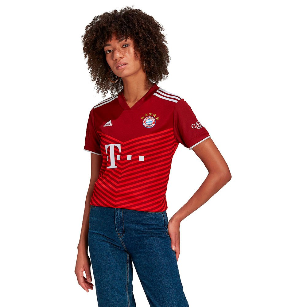 Adidas T-shirt Fc Bayern Munich 21/22 Domicile Woman XXS Fcb True Red
