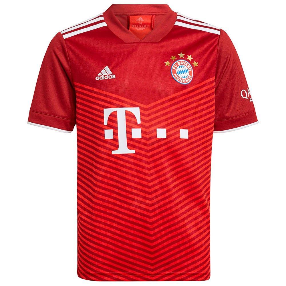 Adidas T-shirt Fc Bayern Munich 21/22 Domicile Junior 152 cm Fcb True Red
