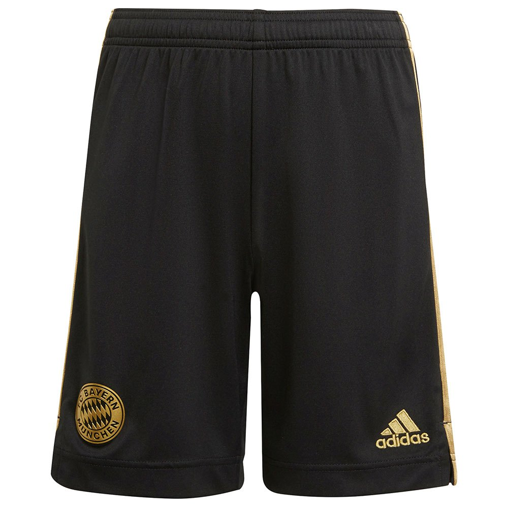 Adidas Le Short Fc Bayern Munich 21/22 Extérieur Junior 128 cm Black