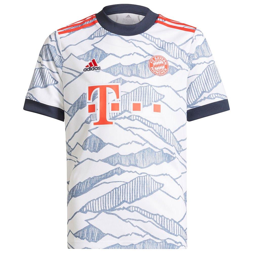 Adidas T-shirt Fc Bayern Munich 21/22 Troisième Junior 164 cm White