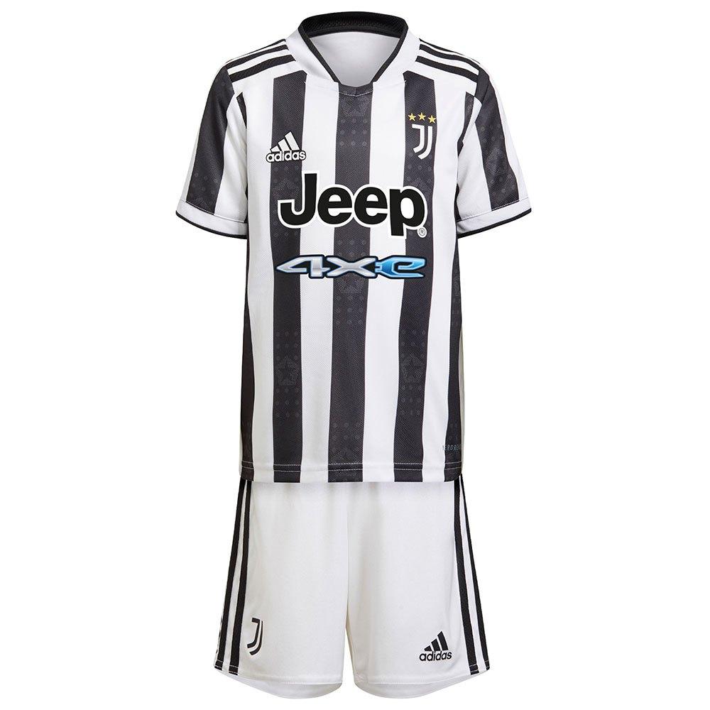 Adidas Mini Kit Juventus 21/22 Domicile Junior 104 cm White / Black / White