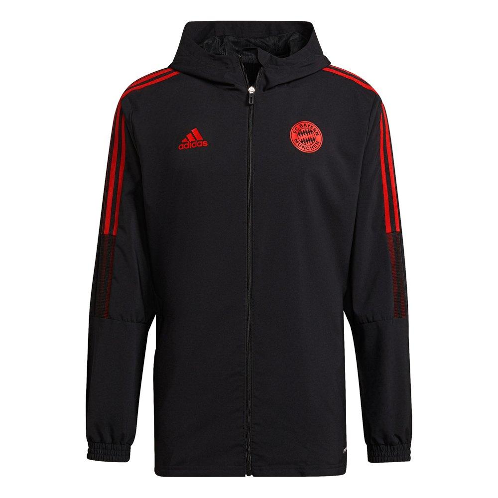 Adidas Veste Survêtement Fc Bayern Munich 21/22 M Black