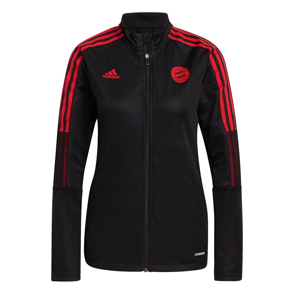 Adidas Veste Survêtement Fc Bayern Munich 21/22 Woman XL Black