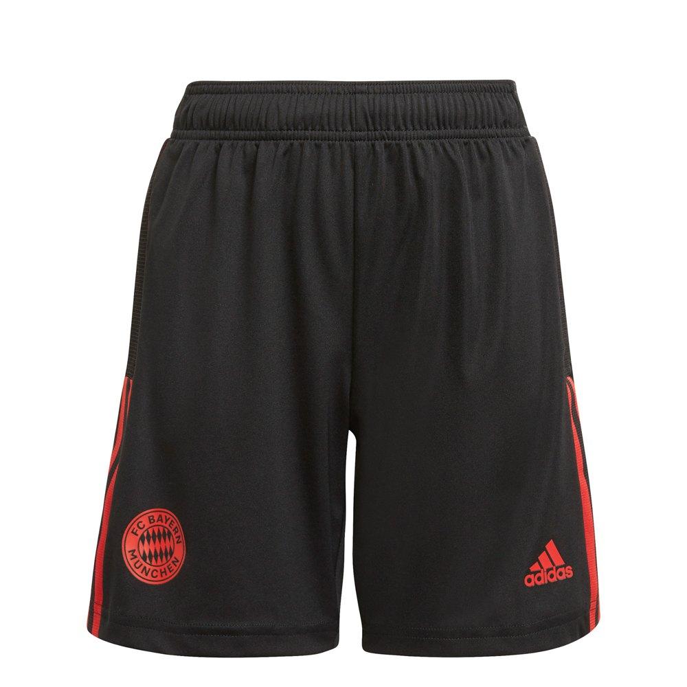 Adidas Le Short Fc Bayern Munich 21/22 Junior 128 cm Black