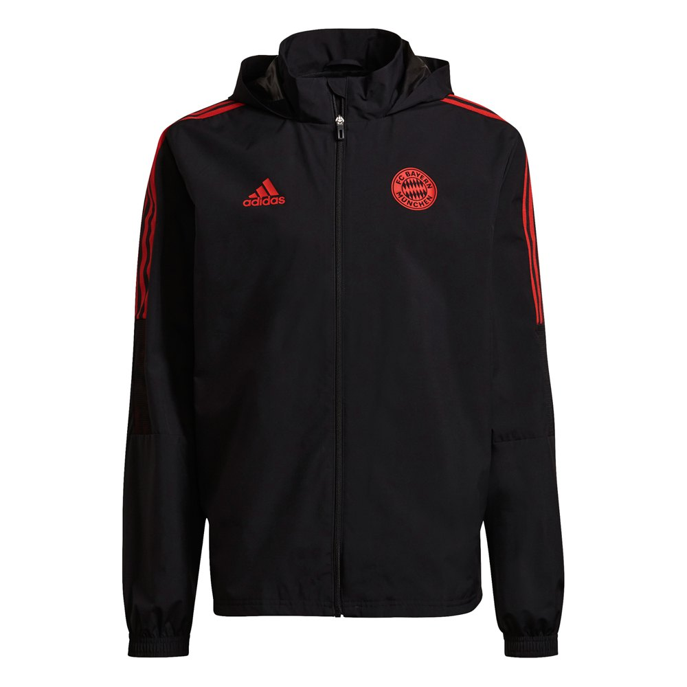 Adidas Blouson Fc Bayern Munich 21/22 Extérieur XS Black