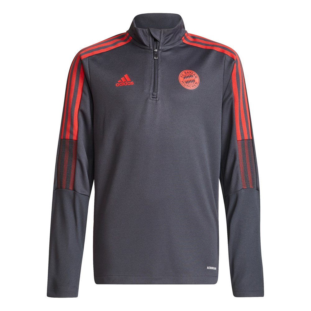 Adidas Veste Survêtement Fc Bayern Munich 21/22 Junior 152 cm Night Grey