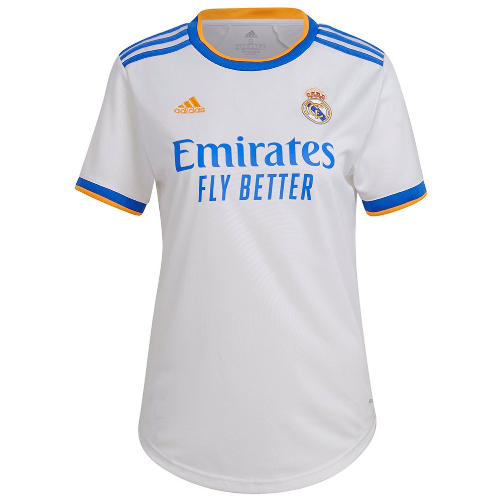 Adidas T-shirt Real Madrid 21/22 Domicile Woman XXL White