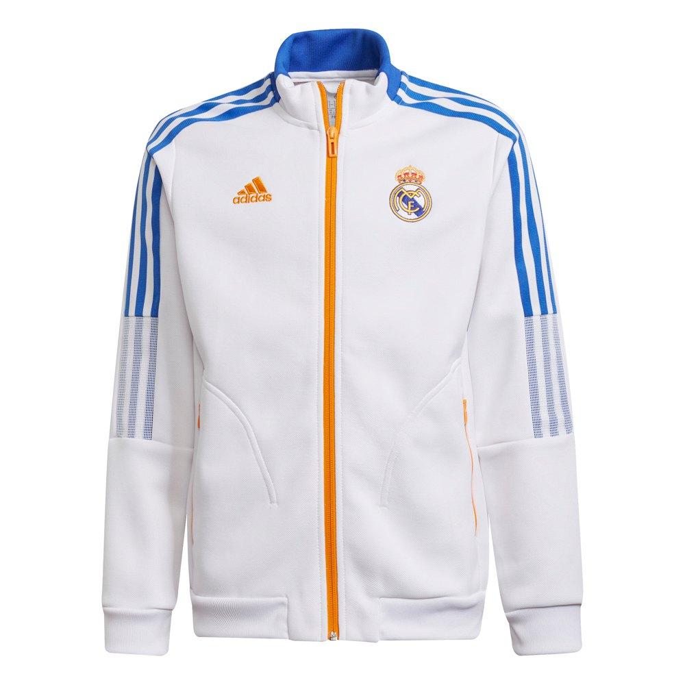 Adidas Blouson Real Madrid 21/22 Junior 140 cm White