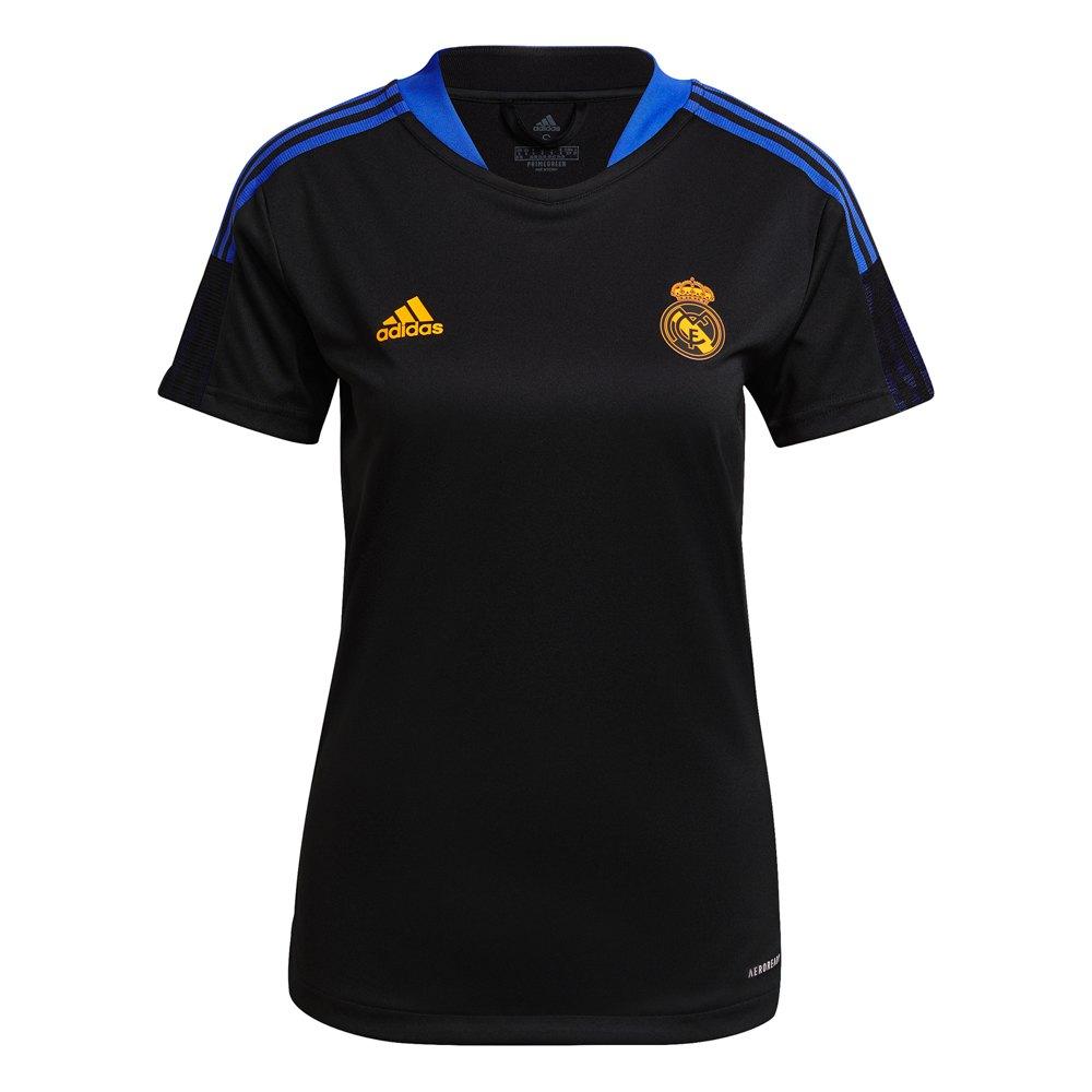 Adidas T-shirt D´entraînement Manches Courtes Real Madrid 21/22 Woman XXL Black
