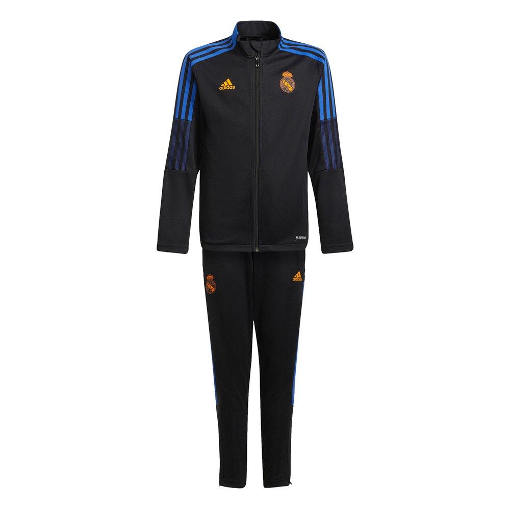 Adidas Survêtement Real Madrid 21/22 Junior 164 cm Black