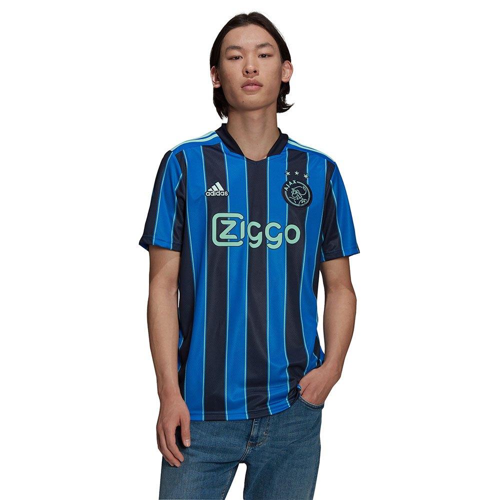 Adidas T-shirt Ajax 21/22 Extérieur L Glory Blue / Legend Ink