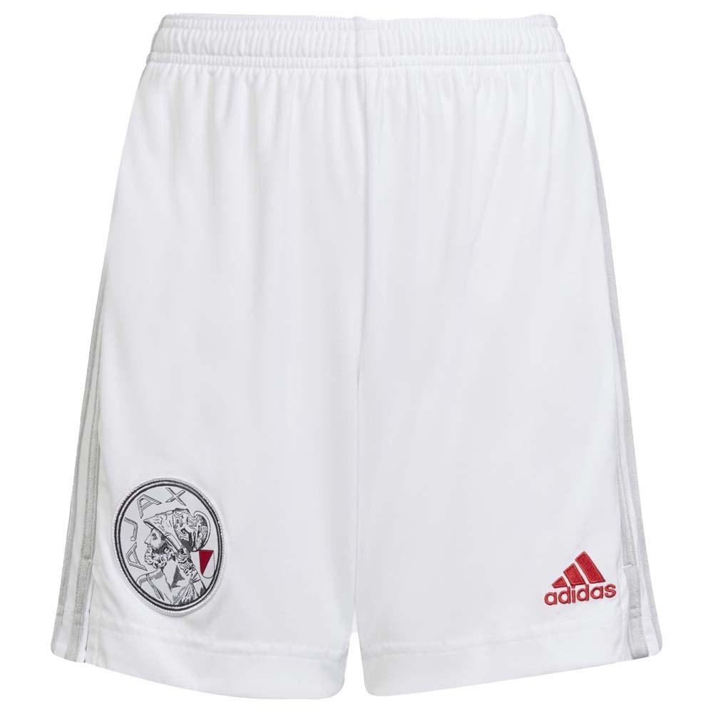 Adidas Le Short Ajax 21/22 Domicile Junior 140 cm White / Stone