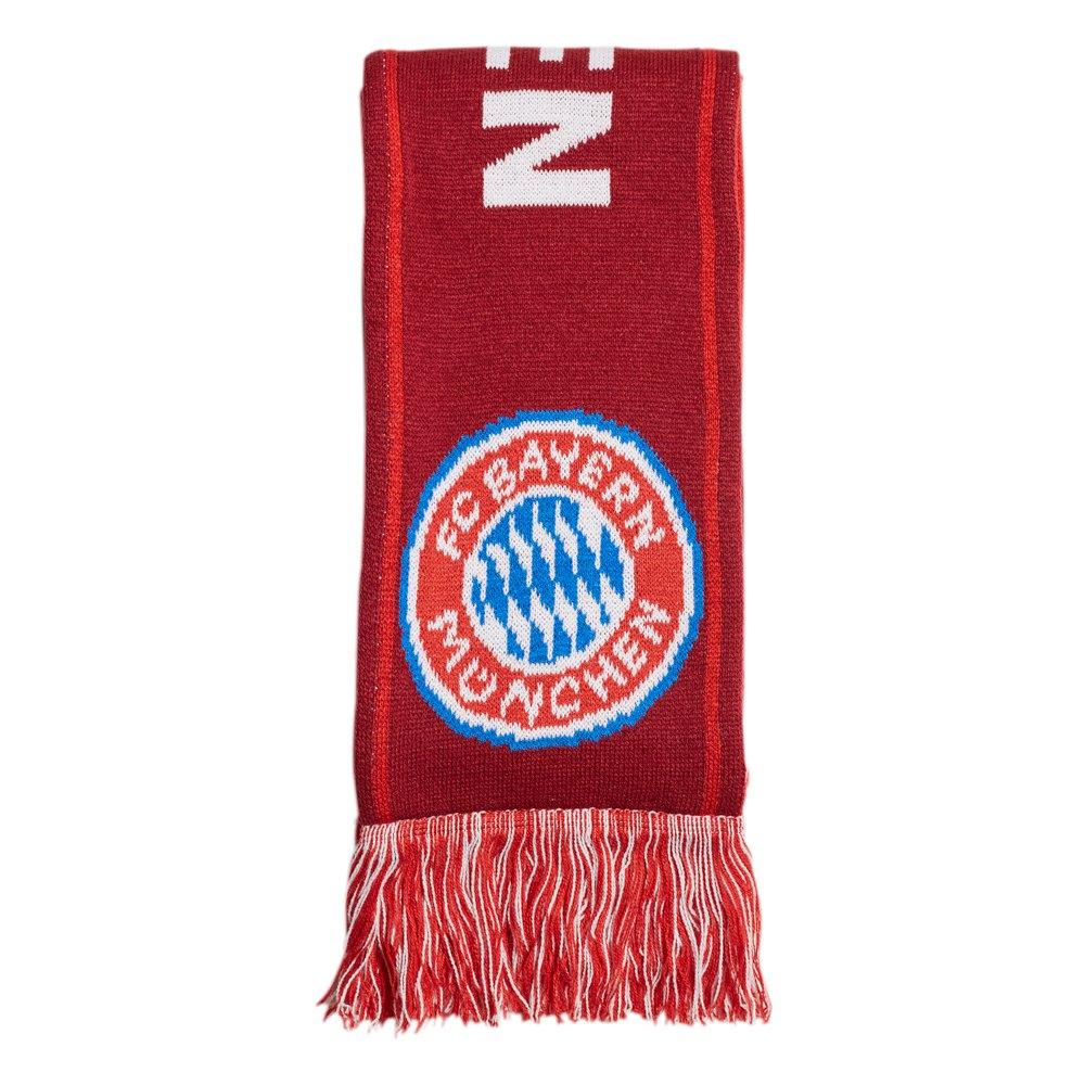 Adidas Écharpe Fc Bayern Munich 58 cm Fcb True Red / Craft Red / White