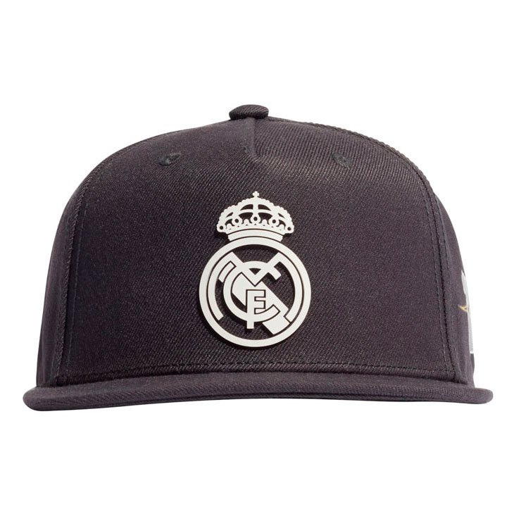 Adidas Casquette Real Madrid 21/22 54 cm Carbon / Chalk White
