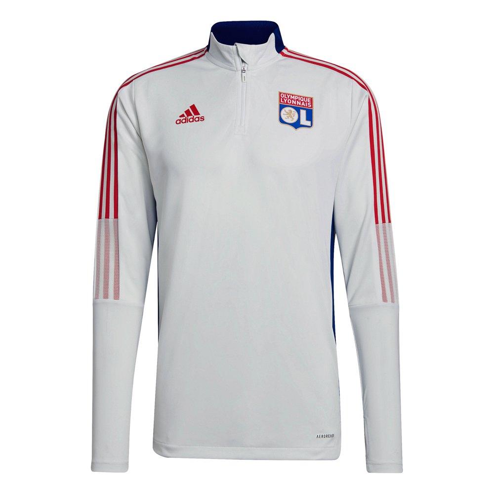 Adidas Veste Survêtement Olympique Lyon 21/22 XS White Tint / Victory Blue