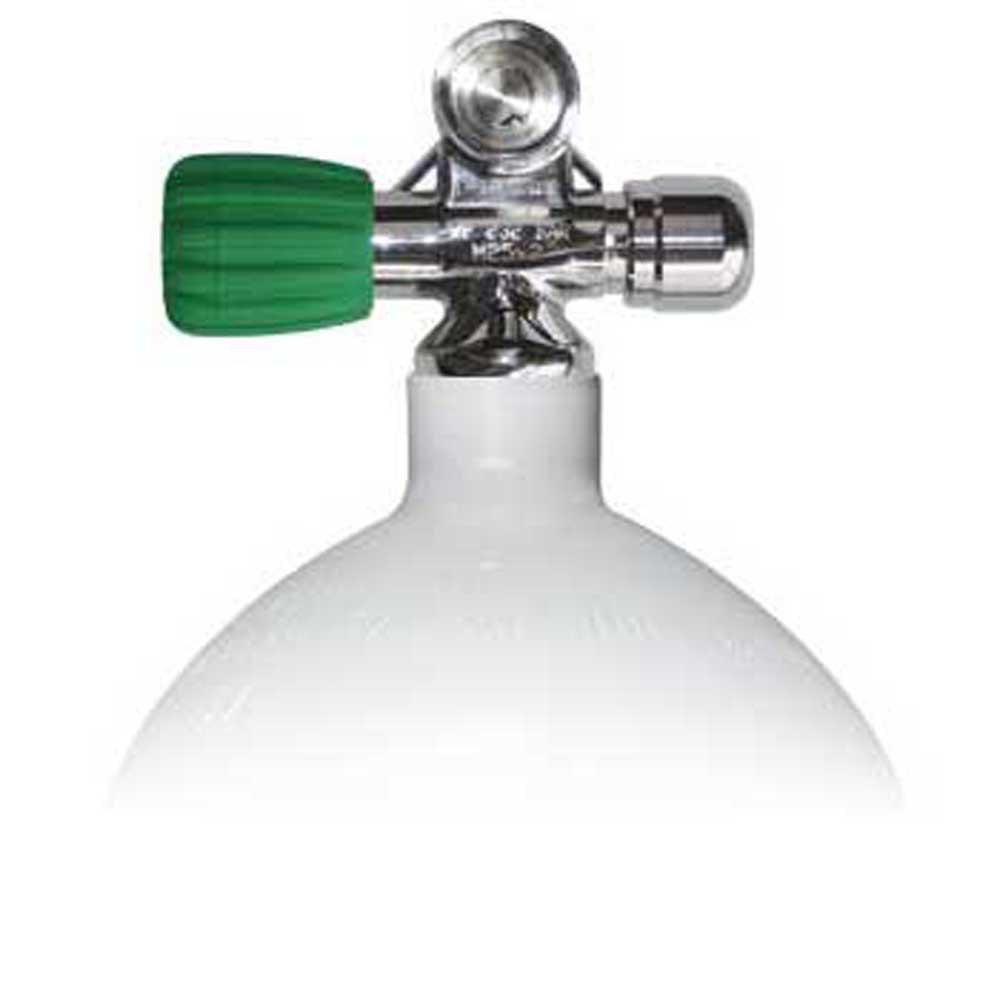 Sauerstoffflaschen Stahltauchflaschen 20l 230 Bar Eu Nitrox Links Erweiterbares Ventil