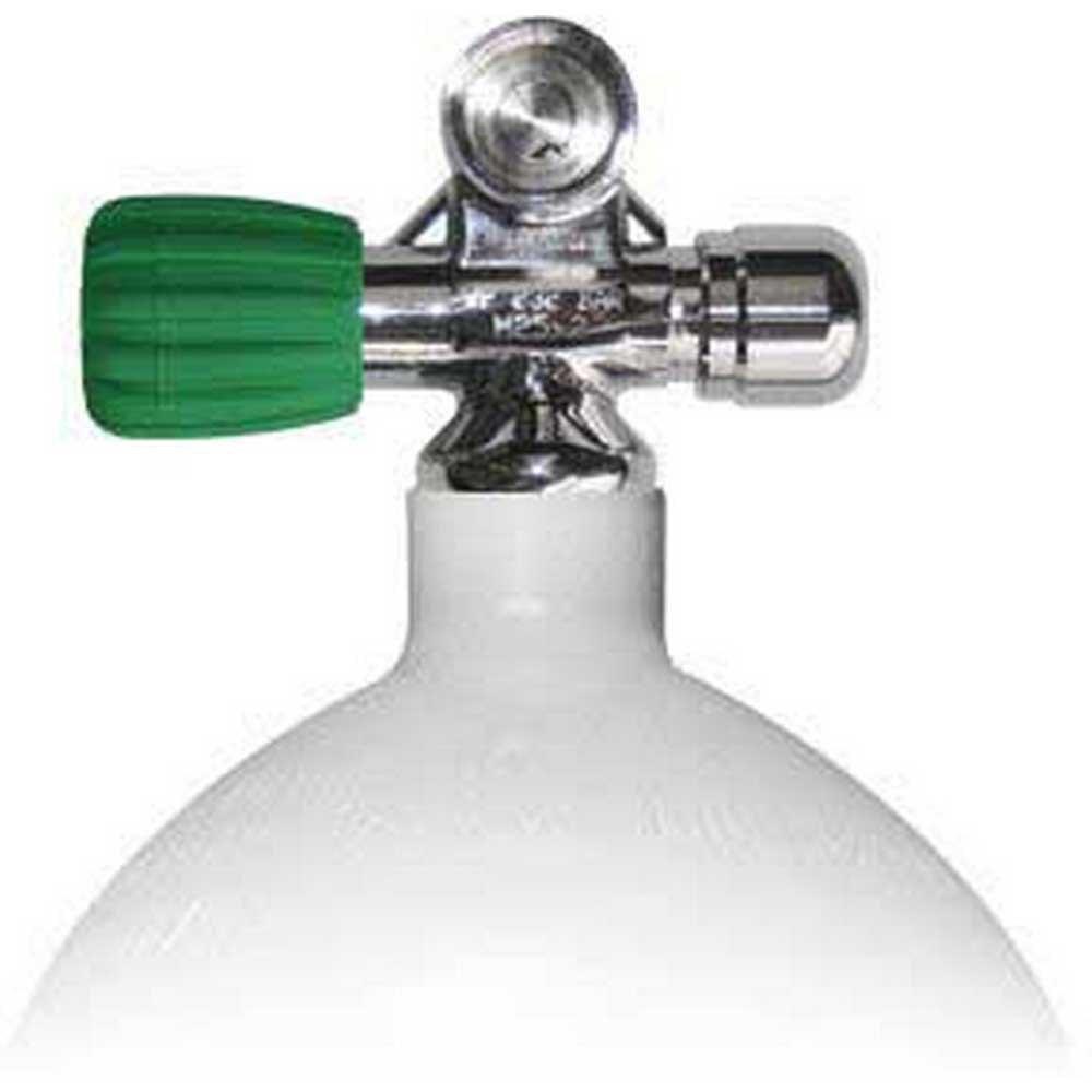 Sauerstoffflaschen Stahltauchflaschen 7l 230 Bar Eu Nitrox Links Erweiterbares Ventil