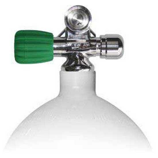 Sauerstoffflaschen Stahltauchflaschen 8l 230 Bar Eu Nitrox Links Erweiterbares Ventil