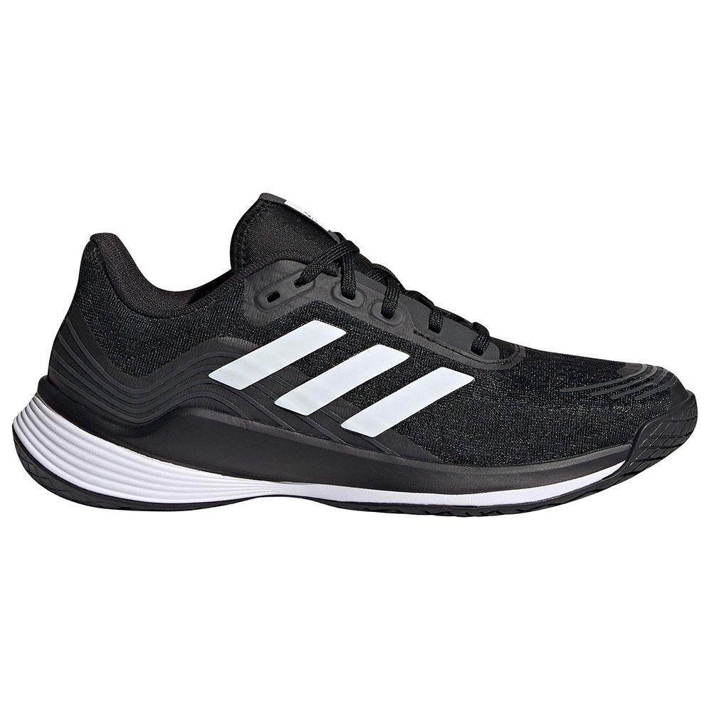 Adidas Badminton Chaussures Novaflight EU 39 1/3 Core Black / Ftwr White / Grey Six