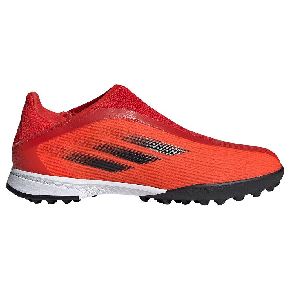 Adidas Chaussures Football X Speedflow.3 Ll Tf EU 32 Red / Core Black / Solar Red