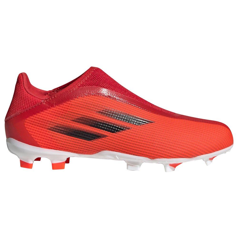 Adidas Chaussures Football X Speedflow.3 Ll Fg EU 38 Red / Core Black / Solar Red
