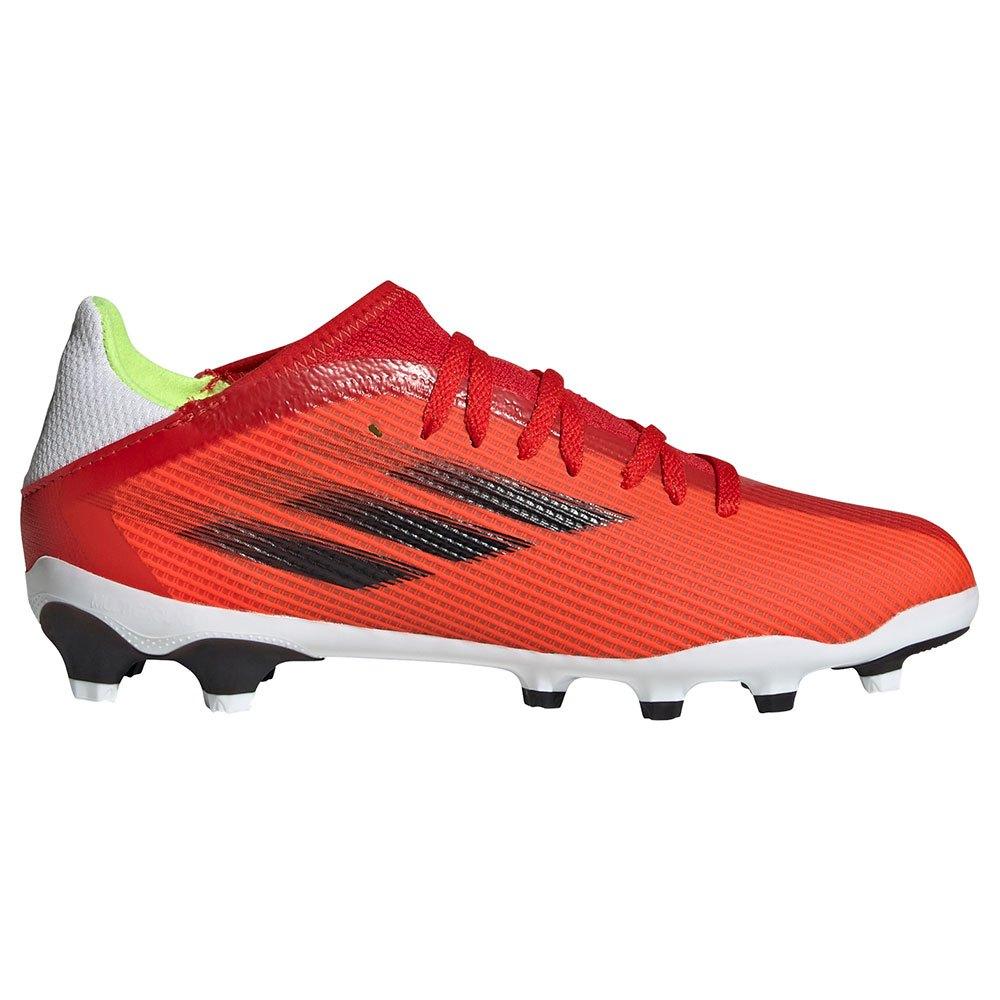Adidas Chaussures Football X Speedflow.3 Mg EU 38 Red / Core Black / Solar Red
