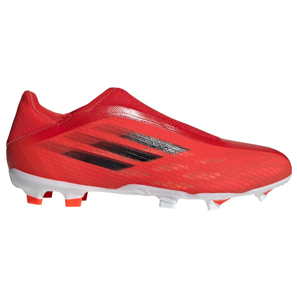 Adidas Chaussures Football X Speedflow.3 Ll Fg EU 46 Red / Core Black / Solar Red 1