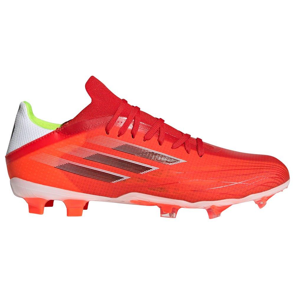 Adidas Chaussures Football X Speedflow.2 Fg EU 45 1/3 Red / Core Black / Solar Red