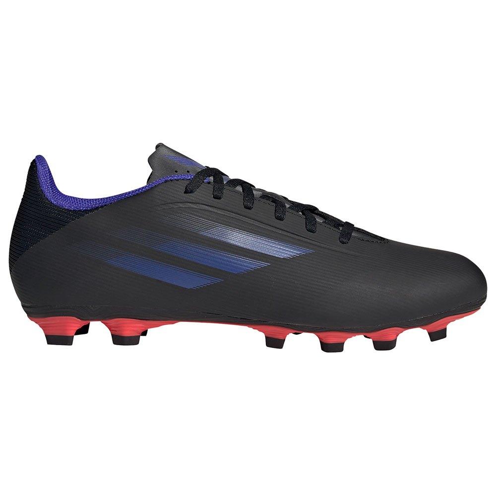 Adidas Chaussures Football X Speedflow.4 Fxg EU 44 Core Black / Sonic Ink / Solar Yellow