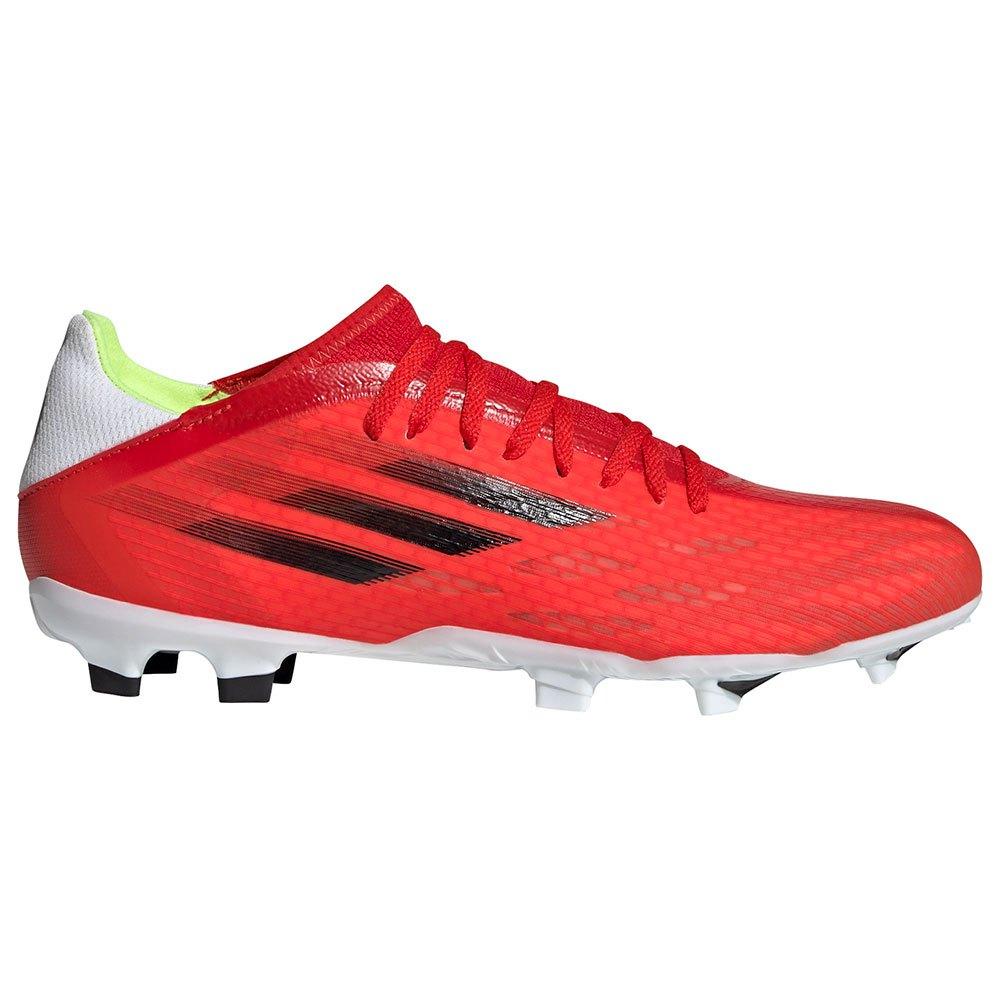 Adidas Chaussures Football X Speedflow.3 Fg EU 45 1/3 Red / Core Black / Solar Red