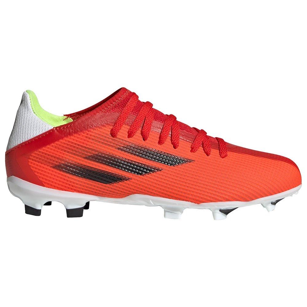 Adidas Chaussures Football X Speedflow.3 Fg EU 38 Red / Core Black / Solar Red 1