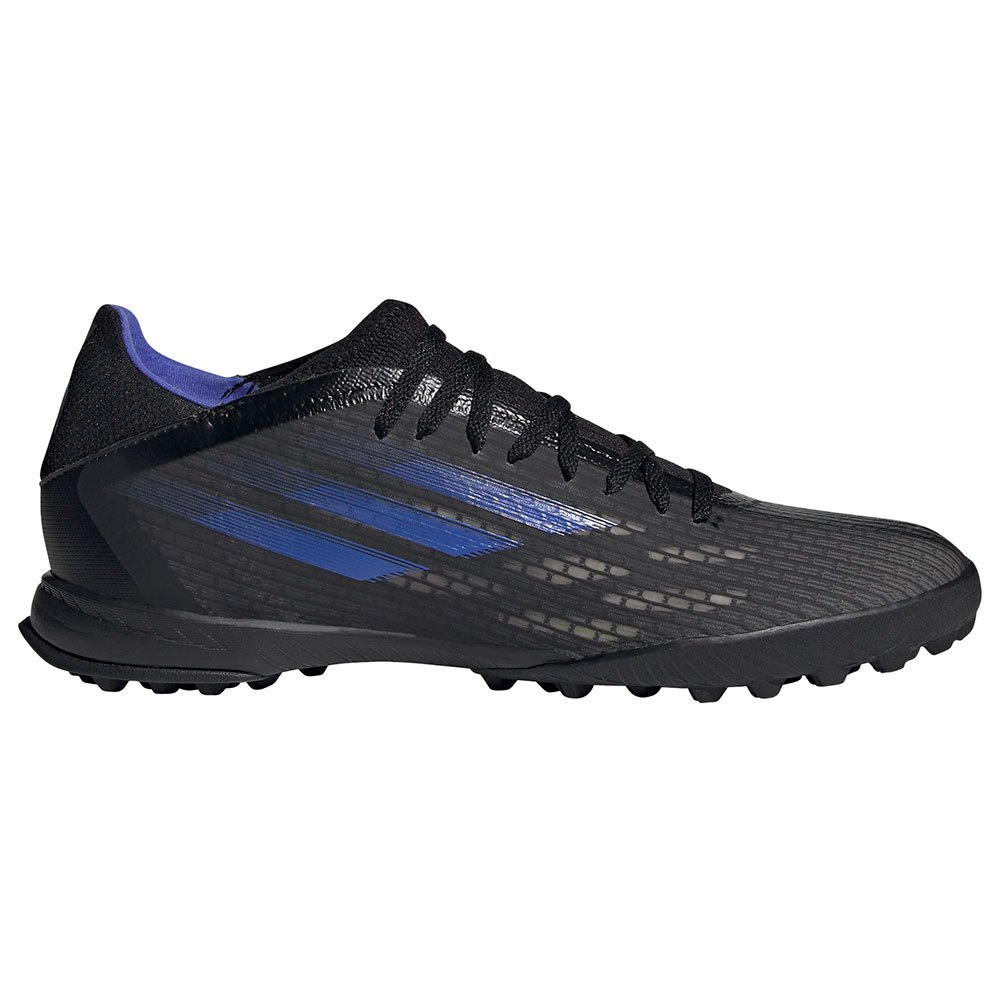 Adidas Chaussures Football X Speedflow.3 Tf EU 44 Core Black / Sonic Ink / Solar Yellow